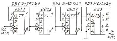 К155ие5 схема делителя